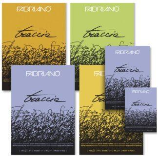 22221297 Блокнот для эскизов Traccia А4 (21х29,7 см) 60 г/м кв. 120 листов склейка Fabriano Италия
