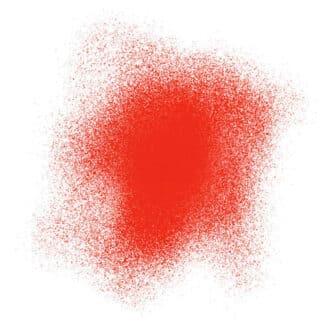 Акриловая аэрозольная краска 239 красный флуоресцентный 200 мл флакон с распылителем Idea Spray Maimeri Италия