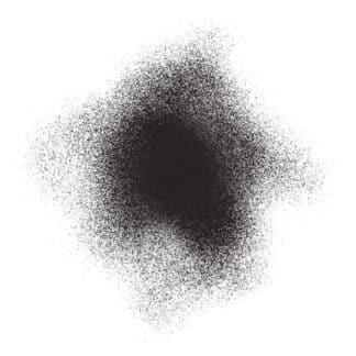 Акриловая аэрозольная краска 530 черный 200 мл флакон с распылителем Idea Spray Maimeri Италия