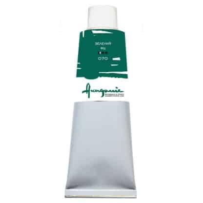Масляная краска 070 Зеленый ФЦ 100 мл Академия