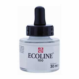 Акварельная краска жидкая Ecoline 100 Белая 30 мл с пипеткой