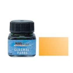 Краска для стекла лаковая прозрачная 45211 Оранжевая 20 мл Hobby Line C.KREUL