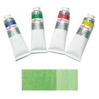 Масляная краска 60 мл 107 зеленая светлая прочная Van Pure