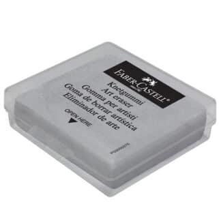 Ластик-клячка серая в пластиковом чехле Faber-Castell 127220