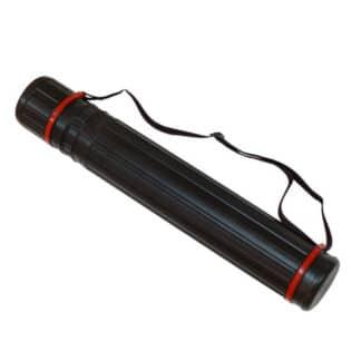 Тубус для черчения 10 см черный (65-105 см) JL-HT-606A