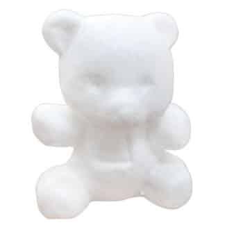Заготовка пенопластовая «Bear» Мишка 120х98х85 мм Santi Великобритания