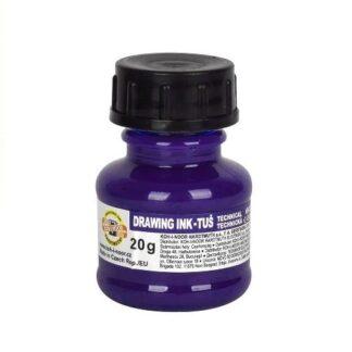 Тушь для черчения 1417006 Фиолетовая 20 г Koh-i-Noor