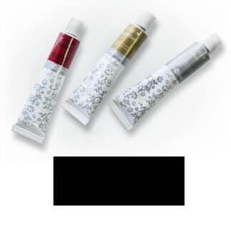 Акриловая краска Nail Art 12 мл 051 черная Van Pure