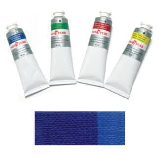 Масляная краска 60 мл 032 синяя темная Van Pure