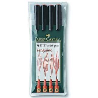 Набор фломастеров «Сангина» 4 штуки Faber-Castell 167102
