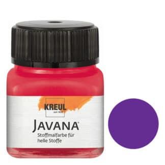 Краска по светлым тканям нерастекающаяся KR-90906 Фиолетовый 20 мл Sunny Javana C.KREUL