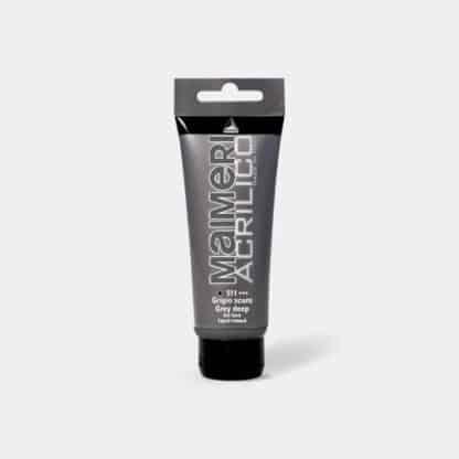 Акриловая краска Acrilico 200 мл 511 серый темный Maimeri Италия