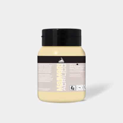Акриловая краска Acrilico 500 мл 107 неаполитанский желтый темный Maimeri Италия