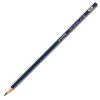 Карандаш чернографитный Goldfaber 2B сине-золотой Faber-Castell