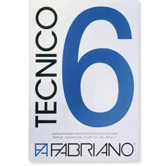 09729742 Альбом для графики Tecnico А3 (29,7х42 см) 220 г/м.кв. 20 листов Fabriano Италия