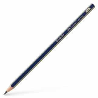 Карандаш чернографитный Goldfaber H сине-золотой Faber-Castell