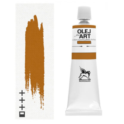 Масляная краска 14 Охра золотистая 60 мл Renesans Польша