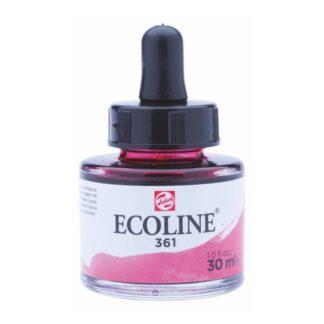 Акварельная краска жидкая Ecoline 361 Розовый светлый 30 мл с пипеткой
