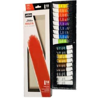 Набор масляных красок Studio 18 цветов по 12 мл картонная коробка Pebeo