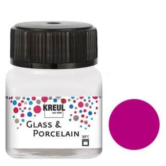 Краска по фарфору и керамике на водной основе KR-16210 Сиреневая 20 мл Hobby Line C.KREUL