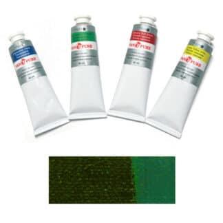 Масляная краска 60 мл 165 зеленая прочная Van Pure