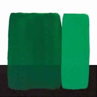Акриловая краска Acrilico 200 мл 356 зеленый изумрудный Maimeri Италия