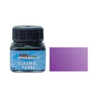 Краска для стекла лаковая прозрачная 45212 Фиолетовая 20 мл Hobby Line C.KREUL