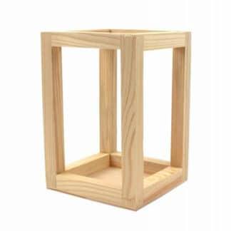 Заготовка деревянная Подсвечник Classic-2 20х11х11 см сосна Rosa Talent
