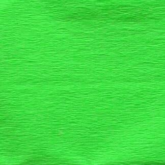 Бумага гофрированная 705402 Салатовая флуоресцентный 20% 26,4 г/м.кв. 50х200 см (Т)
