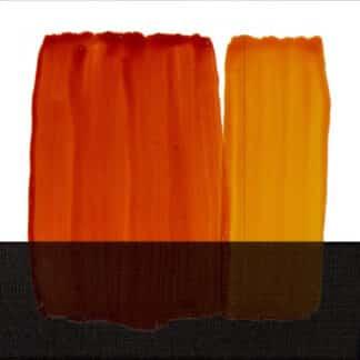 Краска для стекла 050 оранжевый 60 мл Idea Vetro Maimeri Италия