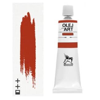 Масляная краска 18 Циннобер натуральный 60 мл Renesans Польша