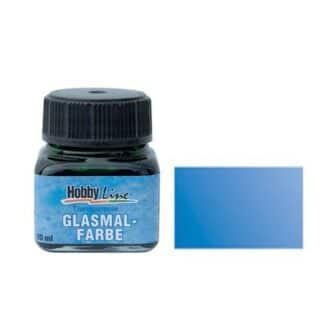 Краска для стекла лаковая прозрачная 45206 Синяя 20 мл Hobby Line C.KREUL