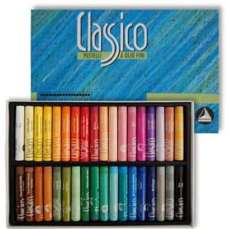 Набор масляной пастели Classico 36 цветов картонная коробка Maimeri Италия