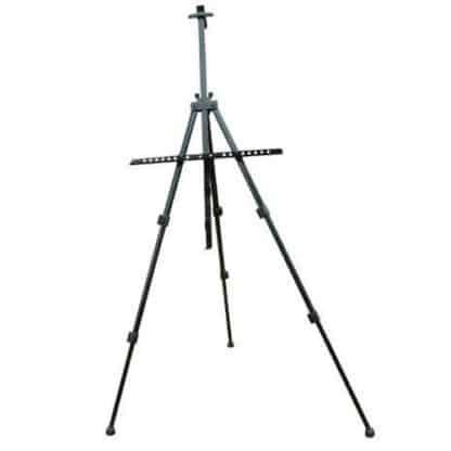 15182 Мольберт-тринога алюминиевый черный высота 157см, высота полотна 80.5см D.K.ART & CRAFT