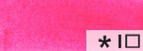 Акриловая краска 52 Маджента флуоресцентная 100 мл Renesans Польша