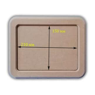 Заготовка деревянная «Панно рамка»  прямоугольное 150х210/210х270 мм МДФ 25.062
