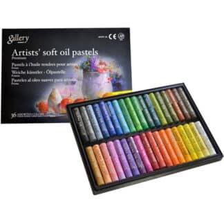 Набор масляной пастели 36 цветов мягкая MOPV-36 Mungyo