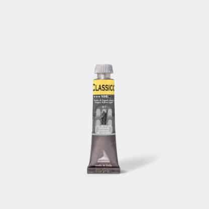 Масляная краска Classico 20 мл 105 неаполитанский желтый светлый Maimeri Италия