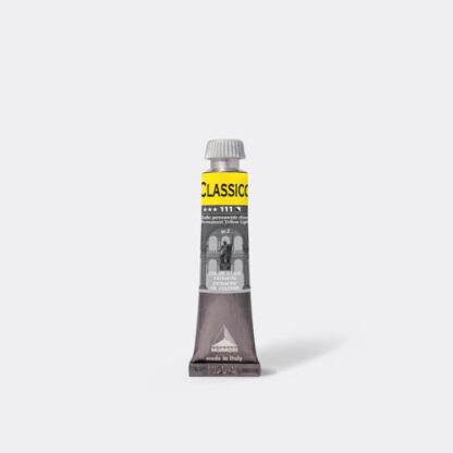 Масляная краска Classico 20 мл 111 желтый светлый стойкий Maimeri Италия