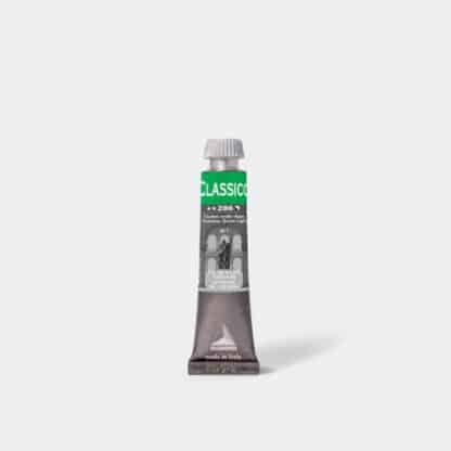Масляная краска Classico 20 мл 286 киноварь зеленая светлая Maimeri Италия