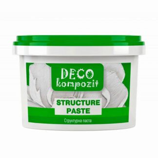 Структурная паста белая Deco 300 мл Kompozit