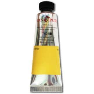 Масляная краска 50 мл 023 желтая средняя Van Pure