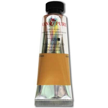 Масляная краска 50 мл 029 охра желтая Van Pure