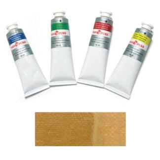 Масляная краска 60 мл 048 охра золотистая Van Pure
