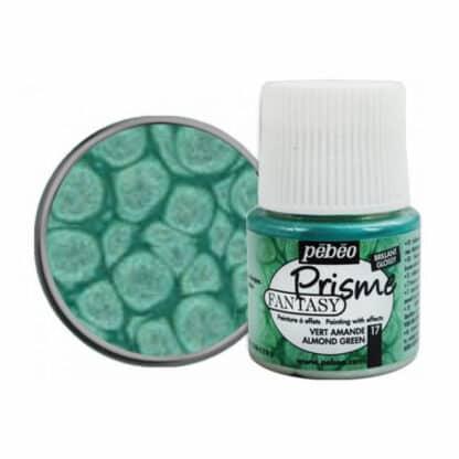 Краска лаковая Fantasy Prisme 017 Зеленый миндальный 45 мл Pebeo