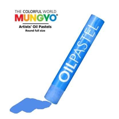 Пастель масляная 536 Синяя бледная Mungyo