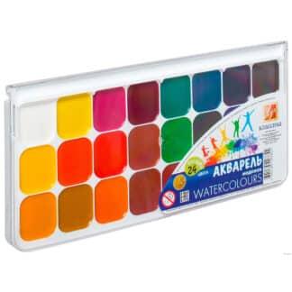 Набор акварельных красок «Классика» 24 цвета Луч