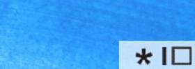 Акриловая краска 55 Бирюзовый флуоресцентный 100 мл Renesans Польша