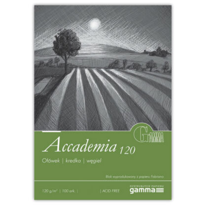 SPА1202129К100  Альбом для рисования Gamma Accademia 21х29,7см 100лист 120гр/м2, спираль