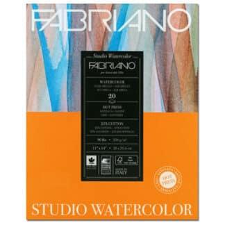 19202002 Альбом для акварели Studio 22,9х30,5 см 200 г/м.кв. 20 листов Fabriano Италия